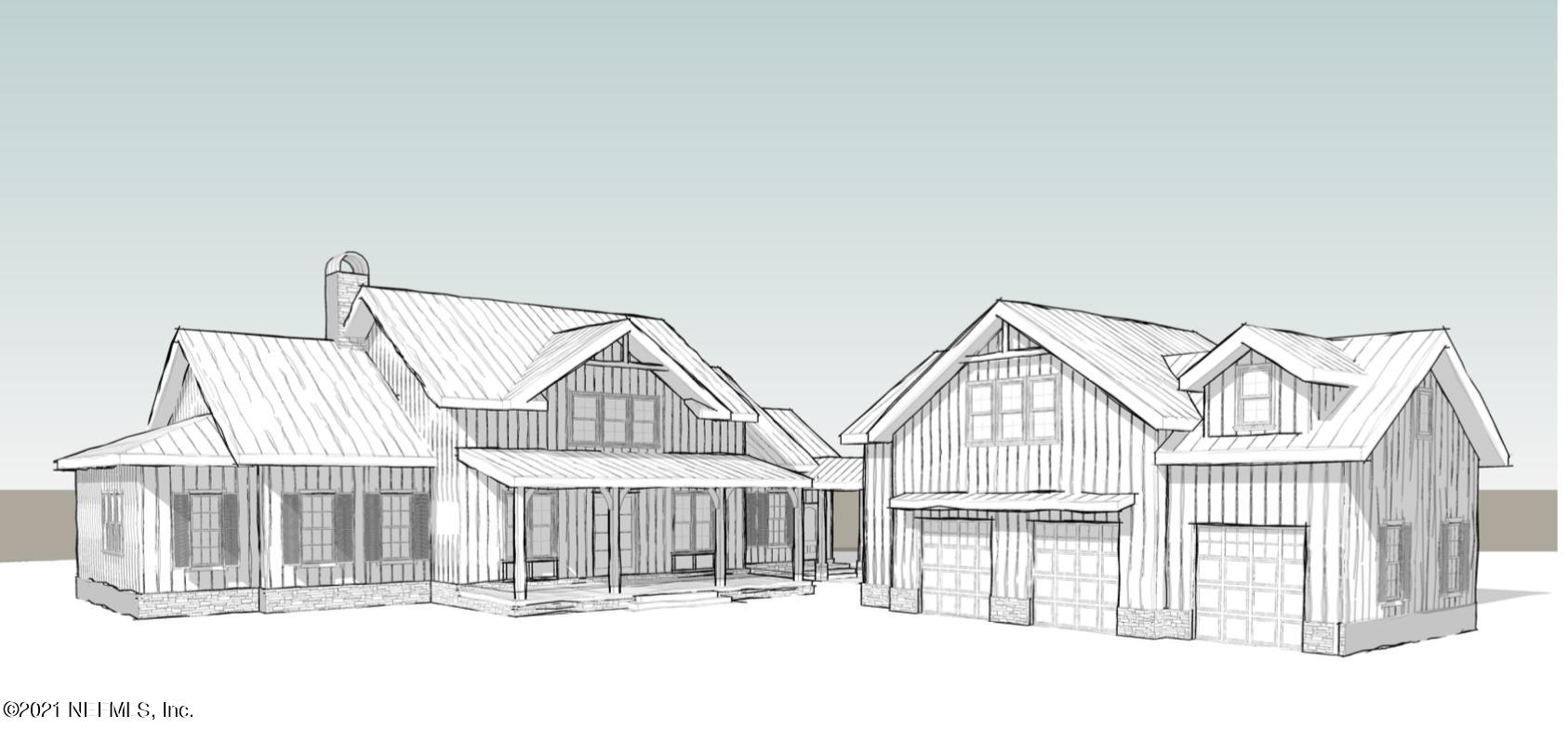 To be constructed by local custom contractor Barnett Custom Homes. This 4 bedroom 3.5 bath home will be built on a 1.03 acre marsh front lot. The beautifully designed home will feature 3540 square feet with an additional 800 square feet option above the 3 car garage. The open floorpan, French doors and large framed windows will maximize the wooded marsh views along the back of the home. A large back porch with outdoor kitchen and dining is perfect for entertaining. The exterior features standing seam metal roof, hardiboard and brick, pavered driveway and covered breezeway. interior finished include 8 foot doors, custom cabinetry, professional series appliances  and more. Call today to start the process of making this house your home.