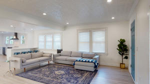 New blinds without cords located in all bedrooms and living spaces