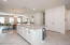 Great room to Kitchen to dining space