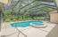 Large pool and patio area