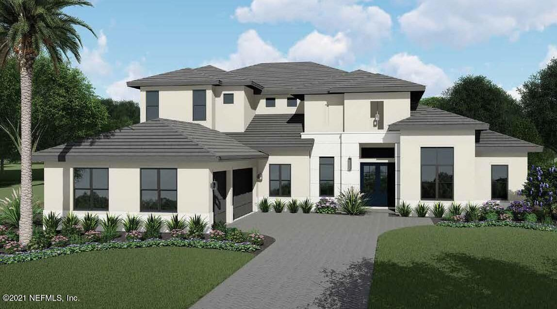 TO-BE-BUILT upon accepted contract by award-winning, luxury home builder AR Homes by Arthur Rutenberg.  The luxury home neighborhood of Quadrille in Ponte Vedra Beach offering true lock and leave convenience w/ gated entrance and HOA managed lawn care.  Located in the #1 rated St. Johns County school district.  The Vincenza is a two-story, 4,577 square foot floor plan offering an open-concept living/dining/kitchen layout and an expansive 35-foot wide Lanai.  Owner's Suite with enormous closets.  Owner's Bath has separate vanities, garden tub and separate shower.  2 guest suites on the other side of the first floor.  Bonus Room, Balcony and 2 more guest suites upstairs.  Large 13' by 20' Den/Office for work-from-home convenience.  Choose this or any of AR Homes' 75+ fully customizable plans