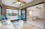 Sunroom - Triple Sliders off of Owner's Suite