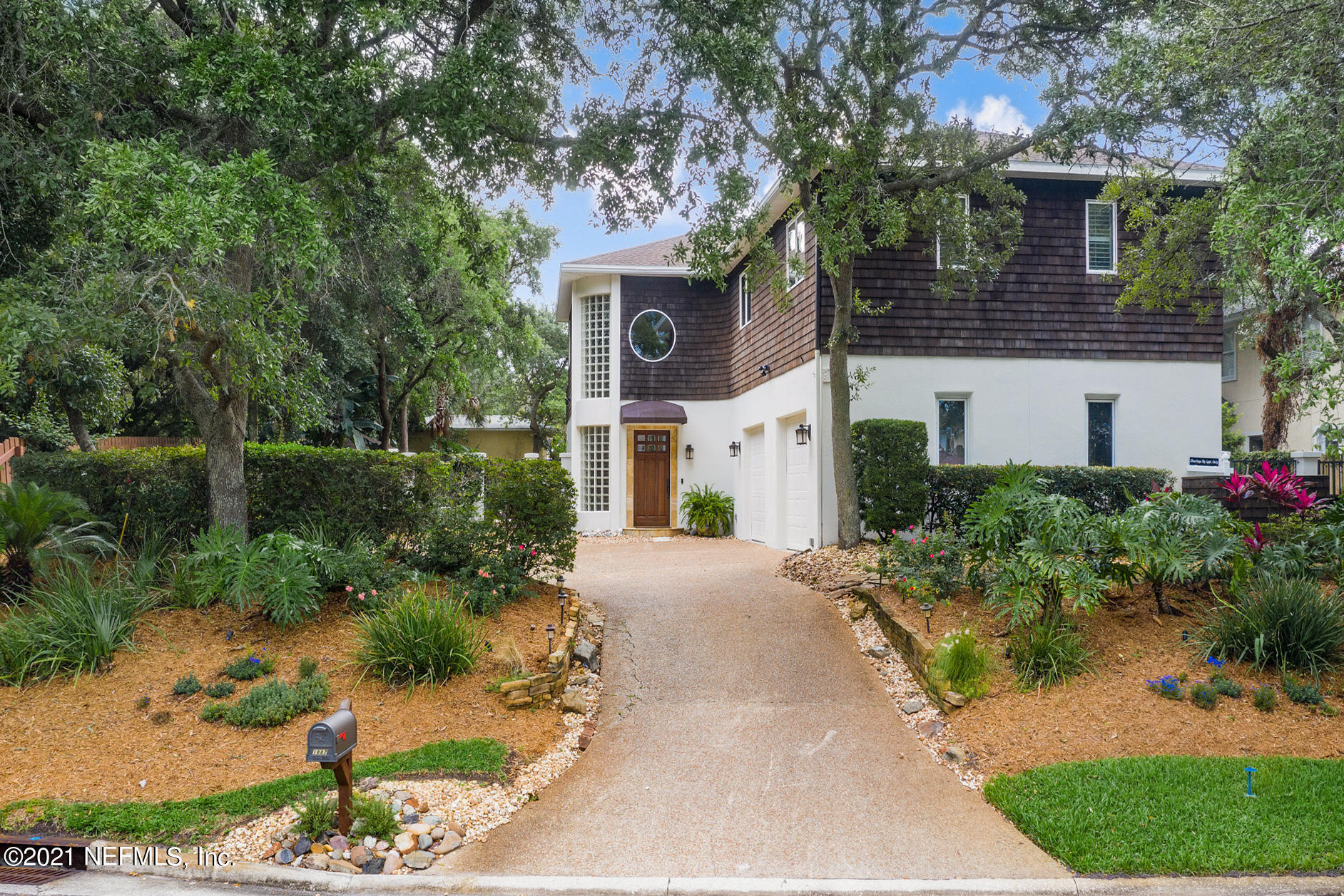 *OPEN HOUSE 7/31/21 FROM 3PM-5PM* Tucked away in a small cul-de-sac neighborhood in the heart of Atlantic Beach stands this alluring residence on a large private lot just three houses from the ocean. This timeless beauty is located steps to beach access and offers a sweeping backyard including a spacious pool, lush landscaping, detached pool bath, and plenty of entertaining space that will make you feel as if you were in a tropical oasis. The many large windows and glass doors showcase the panoramic views and allow for a seamless transition from inside to out. This completely remodeled home features four bedrooms, three full baths, and one half bath. A perfect escape, yet biking distance to restaurants, shopping, parks, and entertainment