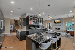 Stunning Kitchen, Miele Appliances, Quartz Counters, Smooth Profile Cabinets