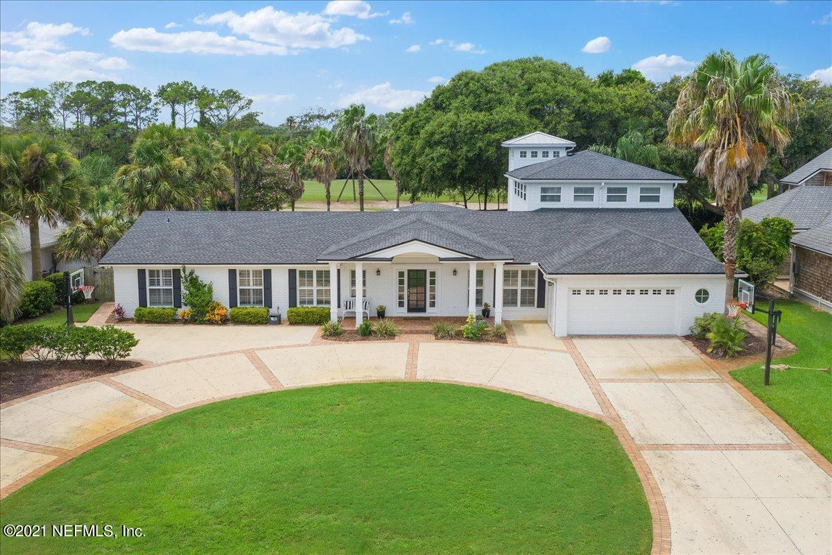 Welcome to this spacious, renovated home just around the corner from the Ponte Vedra Inn & Club in Old Ponte Vedra Beach, Jacksonville's most desirable neighborhood. With two owner's suites downstairs, this home makes for a wonderful multi-generational property. Downstairs also has two additional bedrooms and an office, and the 5th bedroom + bonus is upstairs. 314 Pablo Road overlooks the PVIC golf course with a large gorgeous pool - 10 feet deep! Distinguishing features include white chef's kitchen, luxurious bath finishes, walk in closets, large laundry room, and hardwood floors.