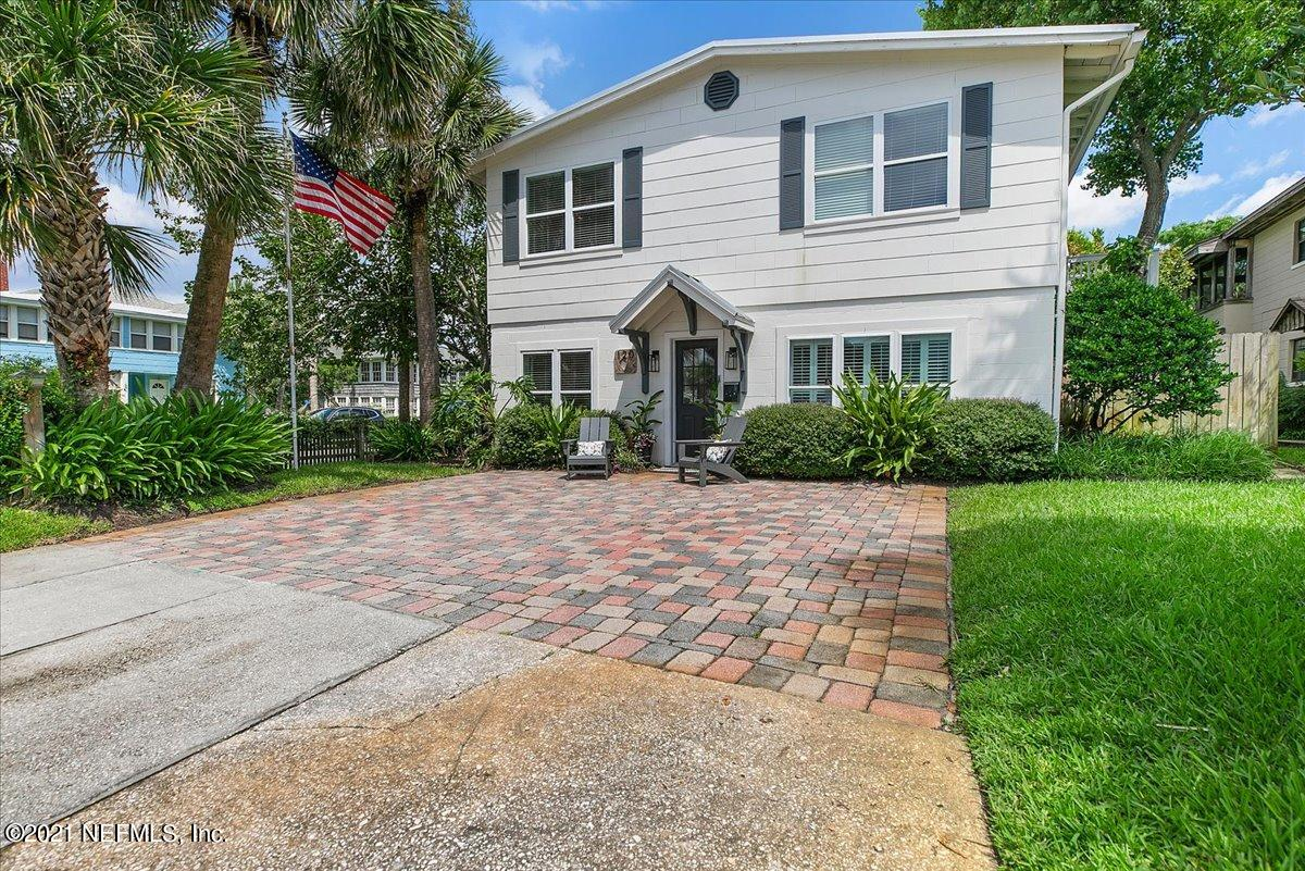 You are going to love the ''Treehouse''! This renovated home offers graceful elegance,but retains a cool Neptune Beach vibe. Located on a large & lush corner lot this home is only steps to the beach & blocks from both Beaches Town Center & JAX Beach restaurants. Sip wine & visit with friends on the large rooftop deck in the treetops or on the back deck under a canopy of trees. The 1st floor offers a flexible floor plan, with a large master suite, 2 additional bedrooms & a 2nd kitchen/living area that allows you to generate rental income or serves as an in-law suite, office or playroom. The top floor offers a modern kitchen with Bosch appliances an open & light-filled living & dining area a full bathroom & a 4th bedroom or office. Preferred Membership Initiation Fee pricing for the Ponte Vedra Inn & Club and The Lodge & Club is available to the Purchaser(s) of this listing.