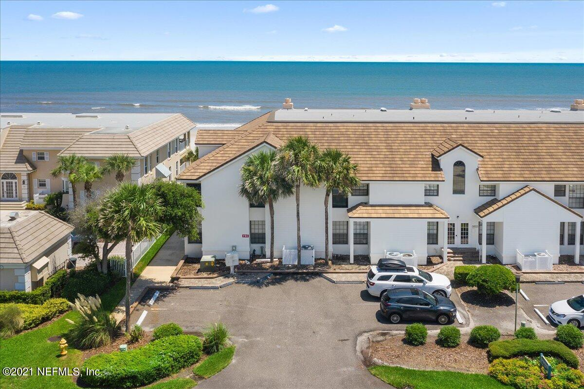 Set in sought after Ponte Vedra Beach, a short walk to the Lodge & Club, this 2nd floor, oceanfront condo was fully renovated in 2019 creating a contemporary, clean design throughout. The bright open floor plan includes hurricane-rated Pella windows and sliding glass doors which showcase the coveted ocean view! This lavish condo is  is a must see! Furnishings available for purchase as part of a separate agreement.