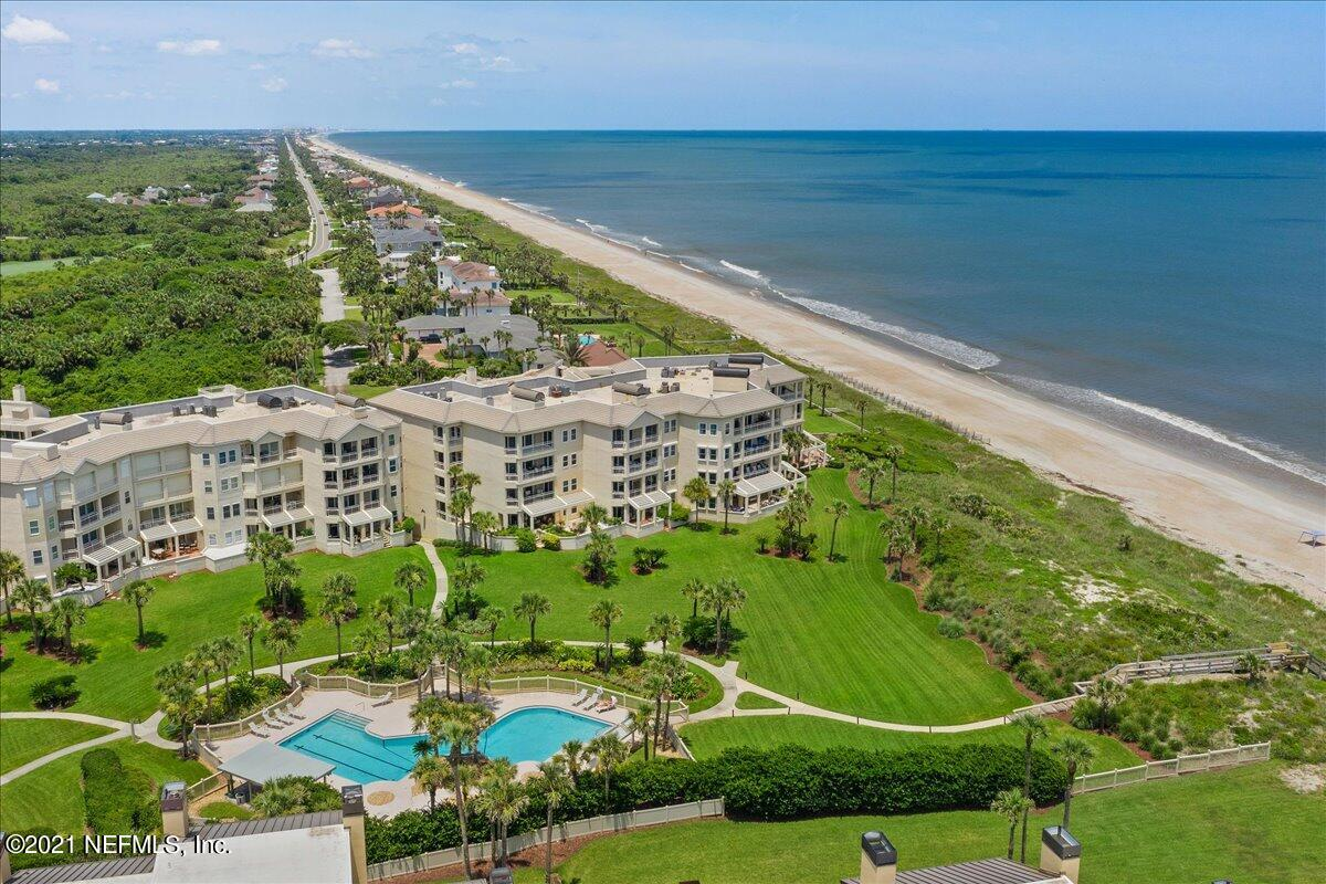RARELY do condos in Windemere I come online- much less a PENTHOUSE! Don't miss your chance to own a breathtaking Penthouse 3 bedroom, 3.5 bath plus office/den oceanfront condo-only 1 of 16- in highly desired Sawgrass Country Club! There are sweeping views of the Atlantic Ocean on 3 different balconies- yes- 3! Even the West facing guest balcony overlooks not only Guana Preserve but also offers views of the ocean as well- a RARE combination! Also- skip the 2-3 year waitlist to join Sawgrass Country Club because this condo has a transferable membership (sold separately- details below) that can be activated AT CLOSING! This condo has had numerous upgrades over the years including new HVAC's 2021, new sliders 2019, New storm windows 2008, raised ceilings throughout, custom built-ins.. hidden liquor closet behind master bedroom door, all doors wired for storm shutters but owners removed shutters. The washer and dryer are newer and convey, dishwasher does not work. The plumbing for bathtub in the master bath is still located in the walls even though the tub was removed years ago! This building is only one of 3 in all of Ponte Vedra Beach that offers operable wood burning fireplaces as well as ELEVATORS! There are also 2 dedicated parking spots in the covered garage w/ 2 additional storage lockers and a power source for charging your golf cart or more!  Windemere I, II and Hallmark share a private pool and grilling area with lush, tropical grounds surrounding it! 2 pets per condo restriction and no short term rentals- 6 months or longer.  Condo being sold As-is!   Membership to Sawgrass Country Club- Sellers SGCC Membership available to purchase directly with the Club AT CLOSING! Buyers would be immediately able to become SOCIAL MEMBERS ONLY at closing and have their names added to the tennis and/or golf dues categories. There is currently a 2-3 year waitlist to join! Membership to be sold SEPARATELY from the home so cannot be negotiated with the sellers. There is a $1,500