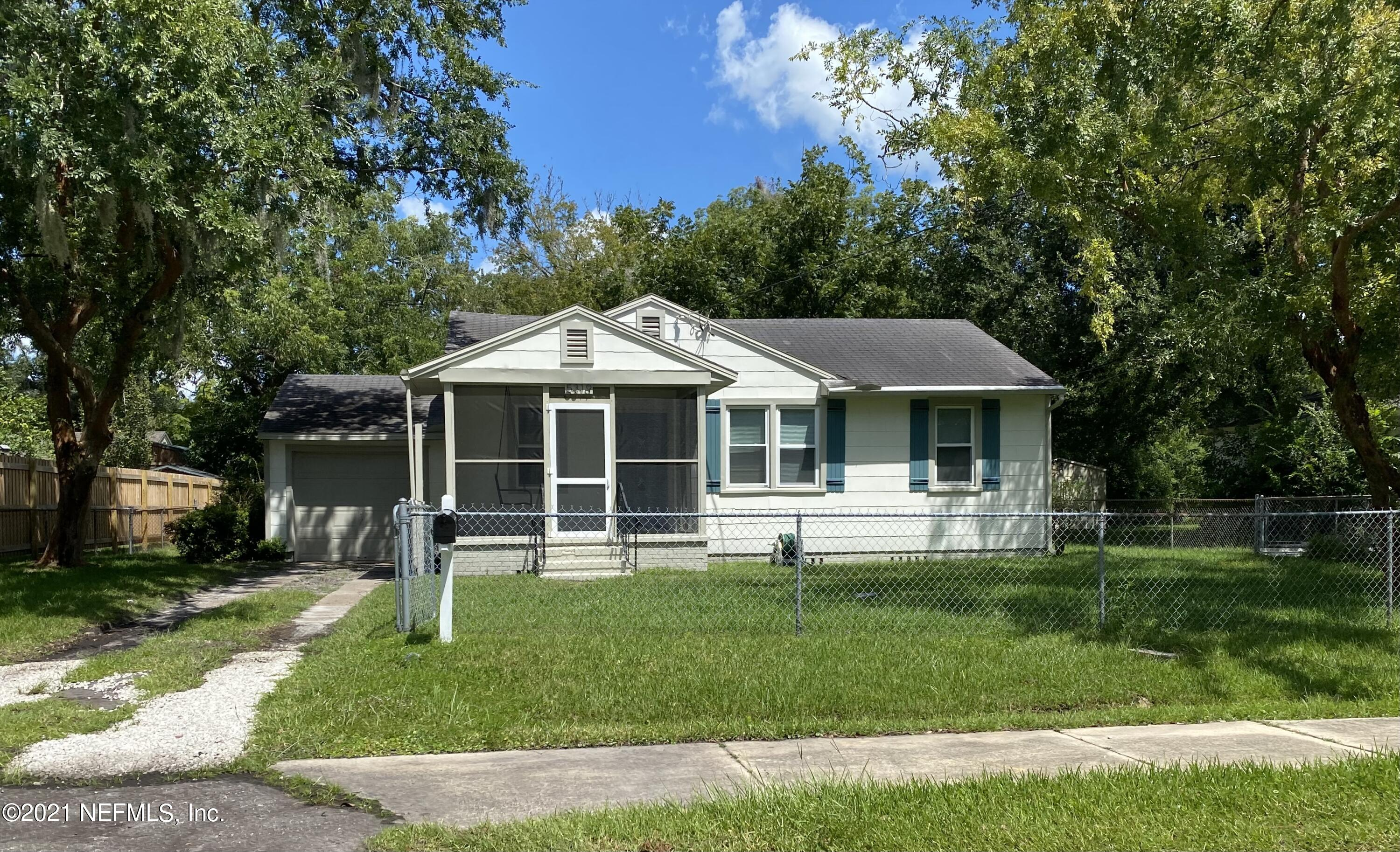 New Kitchen, New Bathroom, Painted Inside and Outside, Refinished Hardwood Floors, Newer Windows, Newer A/C Unit, New Water Heater, Newly Screened Front Porch, Fenced Yard, Move In Ready!