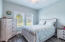 Natural lighting in bedroom 1