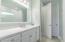 Large vanity in bathroom 2