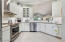Custom Cabinets, Stainless Appliances 2018, 2020, 2021, Granite Counters and Tile Floor