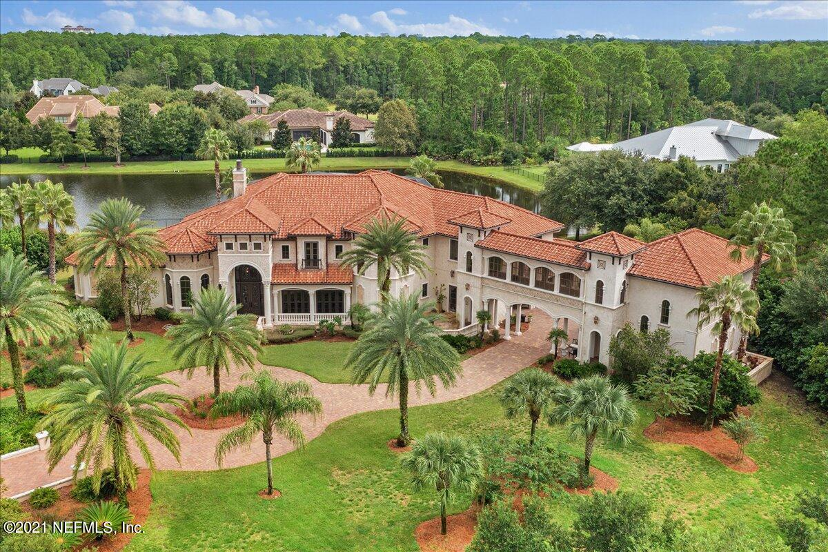 9,500+ SF MEDITERRANEAN ESTATE DESIGNED BY KEVIN GRAY WITH TWO MASTER SUITES IS SITED ON 1.57 ACRES. ONE OF THE MOST PRIVATE PABLO CREEK RESERVE LOTS.  PRIVATE CUL-DE-SAC.  20' COFFER CEILINGS.  EVERY BEDROOM IS AN ENSUITE. 4 FIREPLACES. TOP-END APPLIANCES.  WINE CELLARS THAT STORE OVER 250 BOTTLES.  1,200-SF OF UNFORGETTABLE OUTDOOR LIVING, FEATURING SALT-WATER POOL, LOGGIA 20' GAZEBO, SUMMER KITCHEN, AND TONGUE AND GROOVE THROUGHOUT.  BUILT WITH THE FINEST MATERIALS BY BENCHMARK HOMES - PRE-CAST CONCRETE WALLS ON FIRST FLOOR.  HURD WINDOWS AND DOORS THROUGHOUT, SHOWHOUSE FIXTURES. PAVERED PRIVATE MOTOR COURT WITH OVERSIZED 4-CAR GARAGE WITH GOLF CART STORAGE BEYOND THE PORTE COCHERE. BRIDGE OVER PORTE COCHERE LEADS TO A 770-SF THEATRE WITH A PRIVATE ENTRY AND BALCONY.  LUXURY'S FINEST!