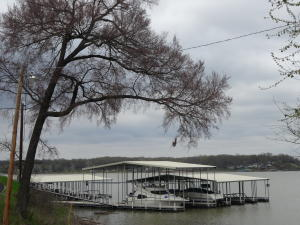 A 25' Boat Slip and 4,000lb lift comes with this home