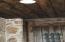 Front door, see ceiling