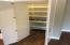 Secret pantry with granite