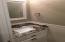 Powder bath off garage hall