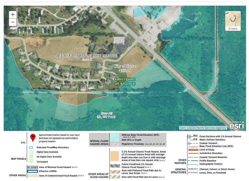 Grove Oklahoma Map.1620 Us 59 Grove 74344 Chinowth And Cohen Realtors