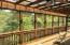Huge screened deck overlooking the forest. Imagine the sounds of nature!
