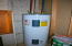 One of two Hot Water Heaters (1 propane / 1 Electric)