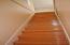 Beautiful Hardwood Stairway