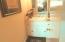 Classy decorative features in bathrooms.