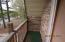 small balcony off 2nd bedroom