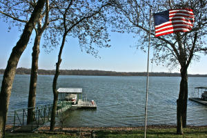 Expansive Lakeviews - Dock with Swim Platform and Boat Hoist