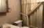 Hall bath view tub/shower