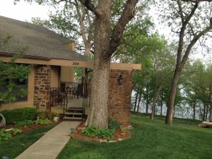 Unit #204 located on the end of the building w/nice lake view.