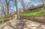 Lakeside patio area