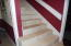 Tile flooring for easy upkeep.