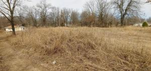 Unimproved lot located in the Carrie Subdivision