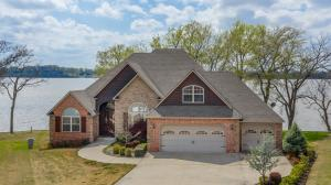 Beautiful lake home close to Grove with 155 Ft. of Shoreline