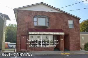 Downtown Wytheville building with multi-use potential