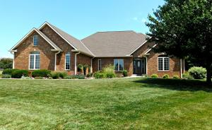 Don't miss this custom, all-brick home located in a quiet cul de sac!