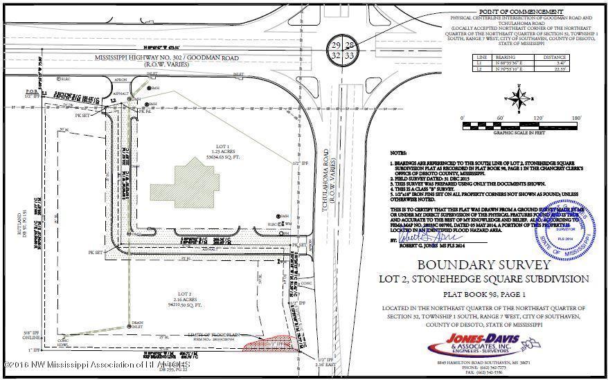 2 Goodman Road, DeSoto, Mississippi 38671, ,Land,For Sale,Goodman,273243