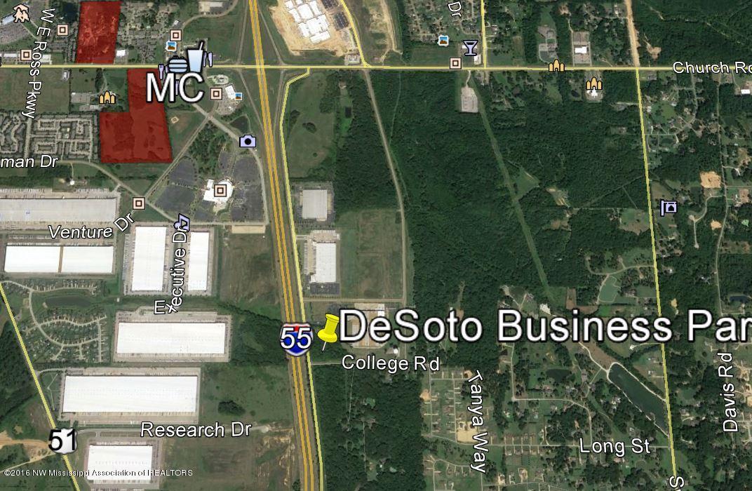 DeSoto Business Park Google Aerial