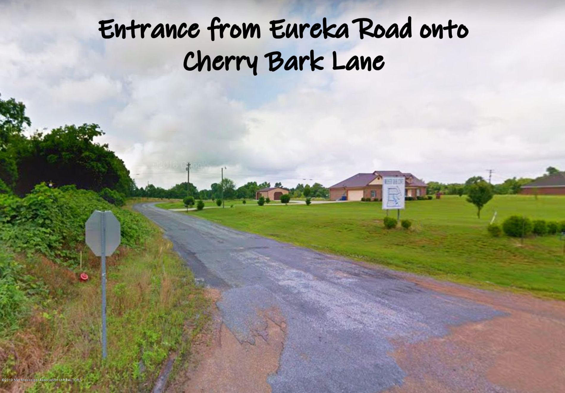 entrance from Eureka Rd.