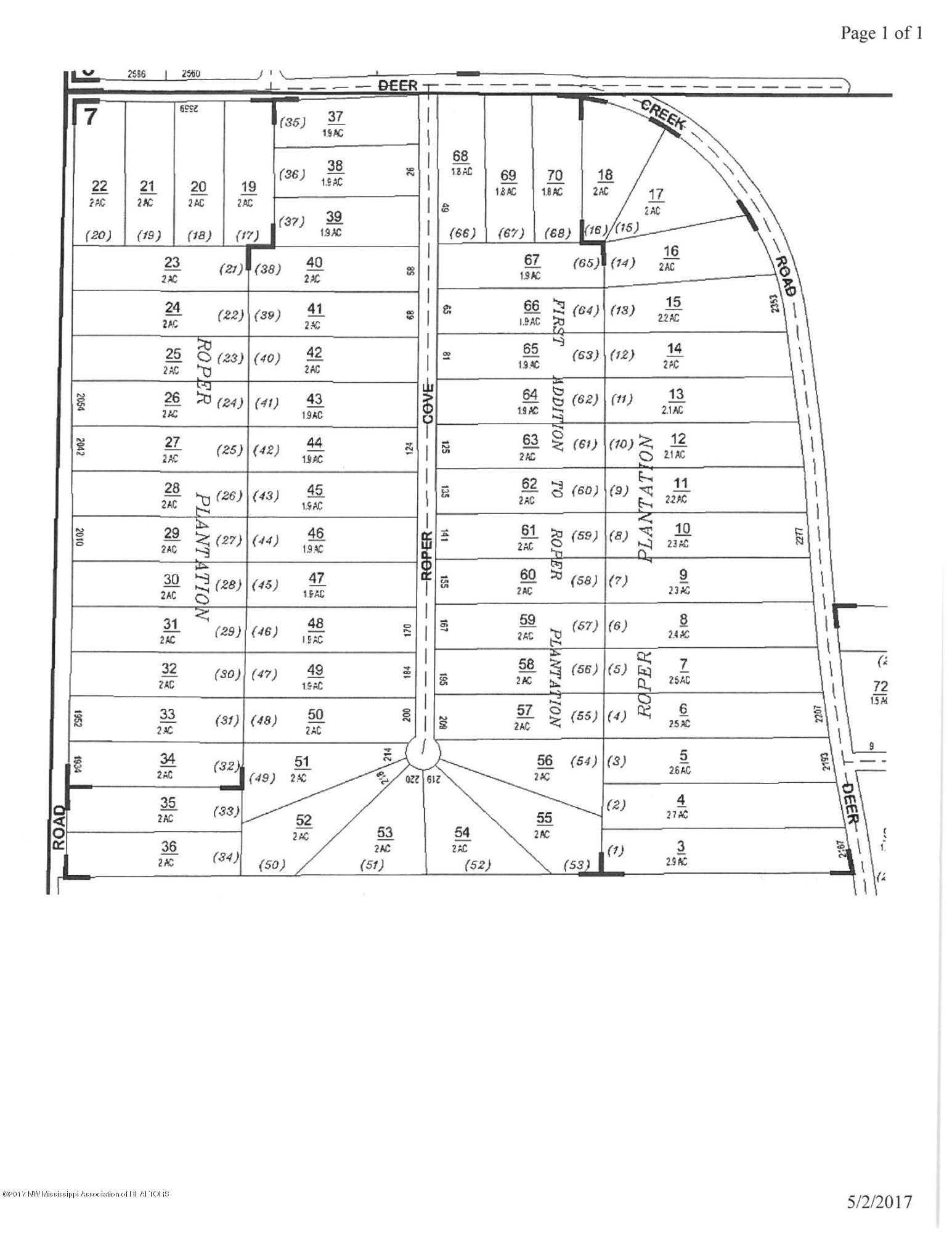 17 Deer Creek Road, Marshall, Mississippi 38611, ,Land,For Sale,Deer Creek,328952