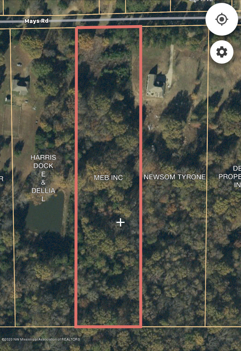 5 Mays Road, Tate, Mississippi 38618, ,Land,For Sale,Mays Road,332300