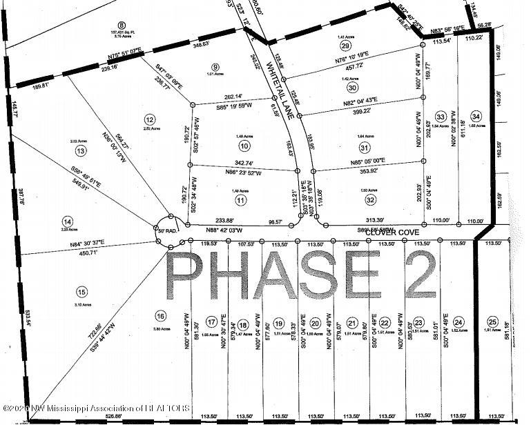 deerfield phas 2 map with write over
