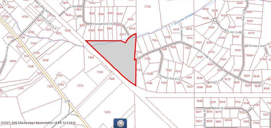 Hunters Creek Map 15.23 Acres