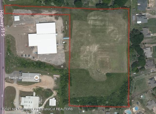Final Overhead View of 6.8 Acres on Hwy