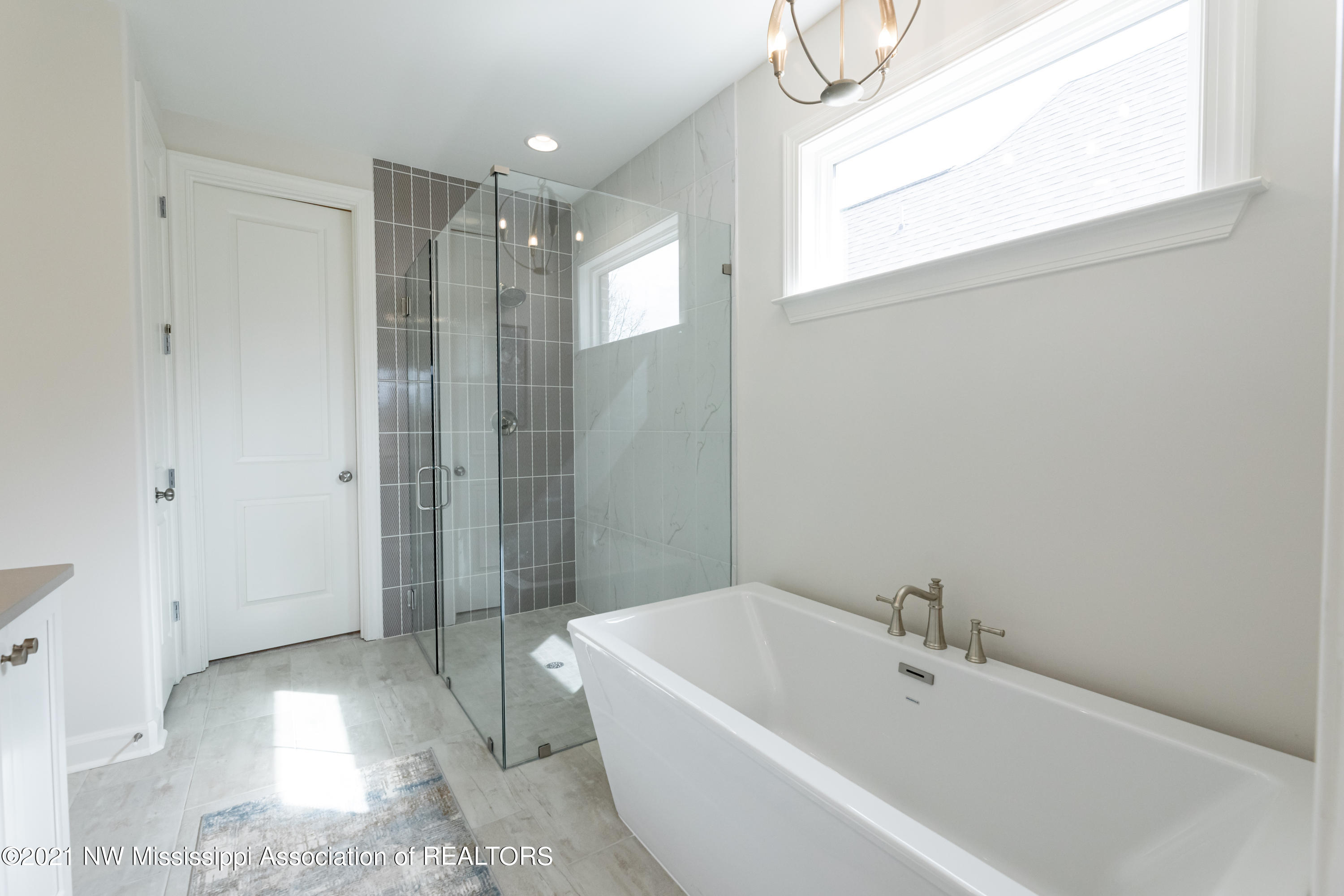 Primary Tub and Shower