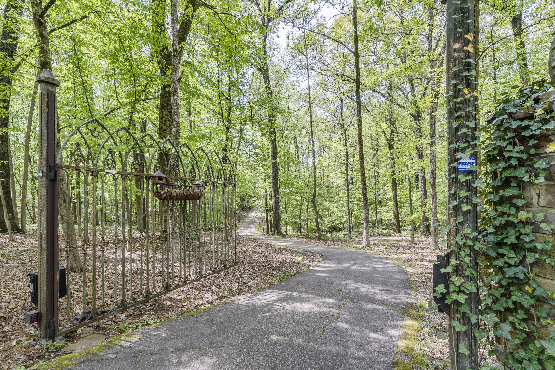 through the iron gates