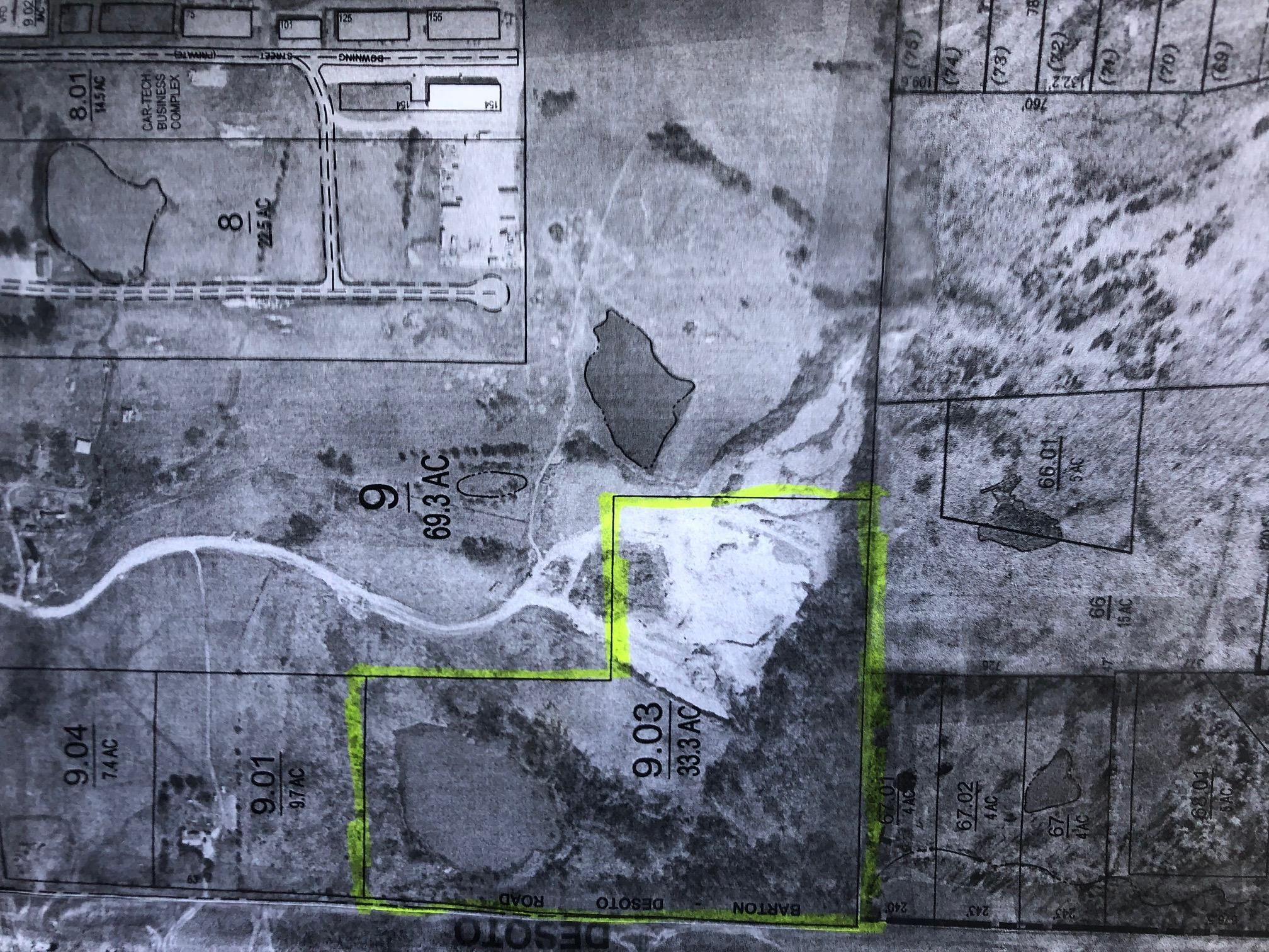33 acres plat