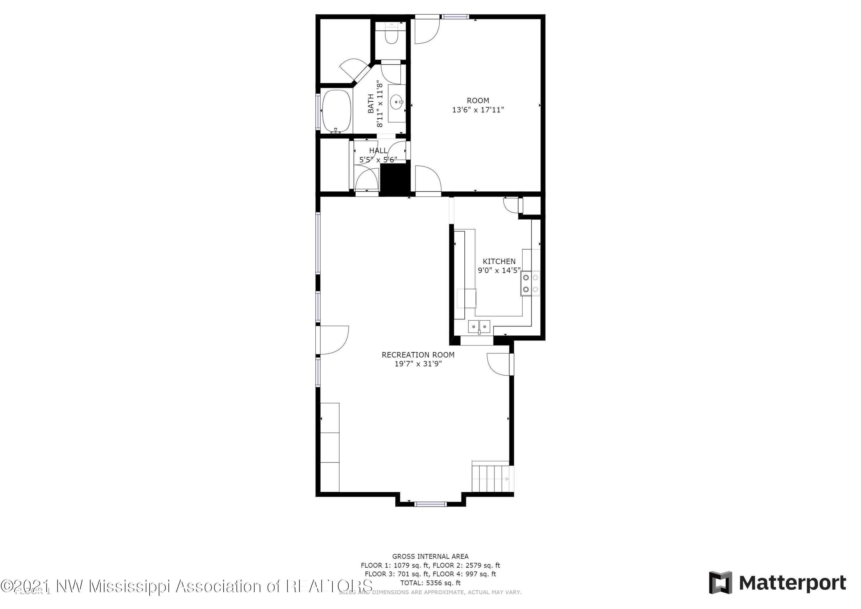 Apartment or Lock Off Suite - 1st Floor