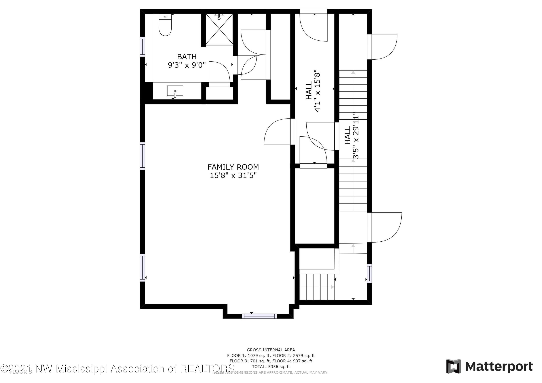 Apartment or Lock Off Suite - 2nd Floor