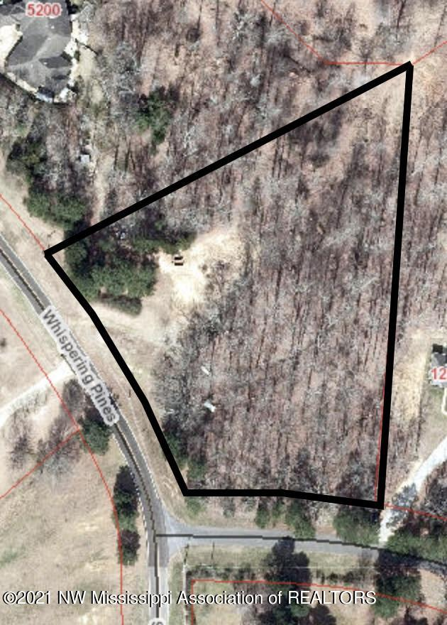 Whispering Pines 2.8 acrea aerial